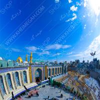 تصویر با کیفیت حرم امام حسین(ع)
